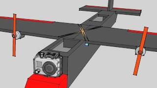 RC Plane Designed in Google Sketchup