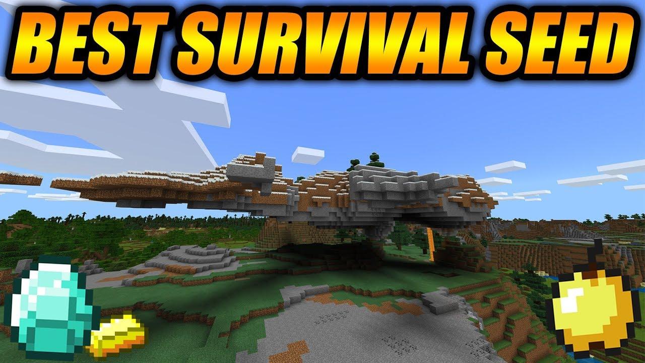 Best Update Aquatic Survival Seed Minecraft Bedrock Edition Survival Seed