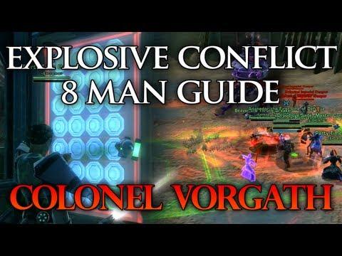 SWTOR Guide   Colonel Vorgath - Explosive Conflict Operation - Boss #3 (Storymode)