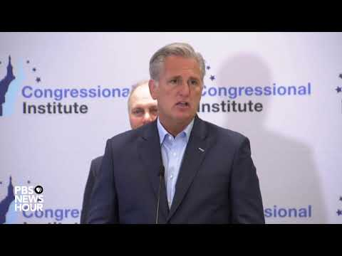 WATCH LIVE: House Republicans discuss Democratic debate, impeachment proceedings