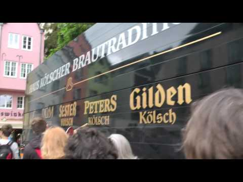 Viking Cruises Rhine Getaway walking tour from Viking dock to Cathedral in Cologne, Germany