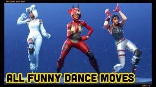 FORTNITE : All Funny Dance Moves | Fortnite Dance | Fortnite Funny