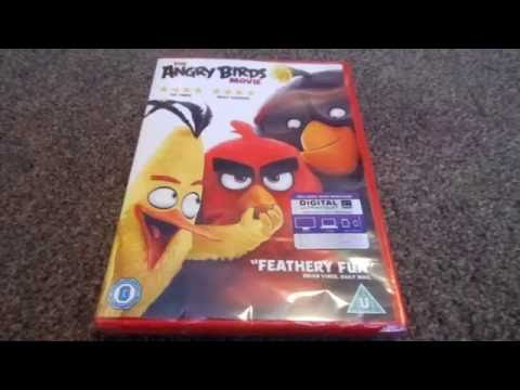 The Angry Birds Movie Uk Dvd Unboxing Youtube