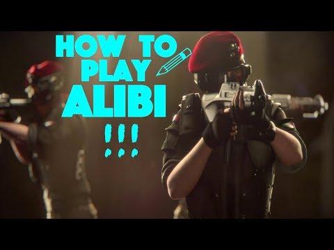 How To Properly Use ALIBI (Rainbow Six Siege Tips & Tricks)