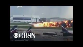 At least 13 killed in fiery plane landing in Russia