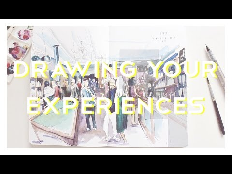 Drawing Your Experiences · Drawing All The Time #2 · semiskimmedmin