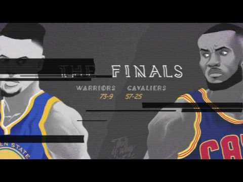 THROWBACK CAVS VS WARRIORS ANIMATION!!!