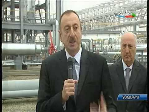 """""""SOCAR Polymer"""" MMC nin təməlqoyma mərasimi"""