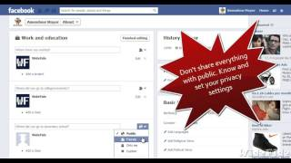 Facebook Privacy Settings 2013