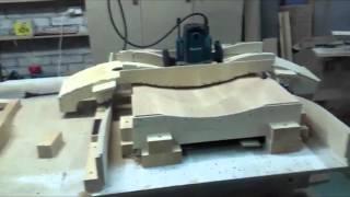 Обучение изготовлению  гнутых фасадов ( ЧПУ своими руками)