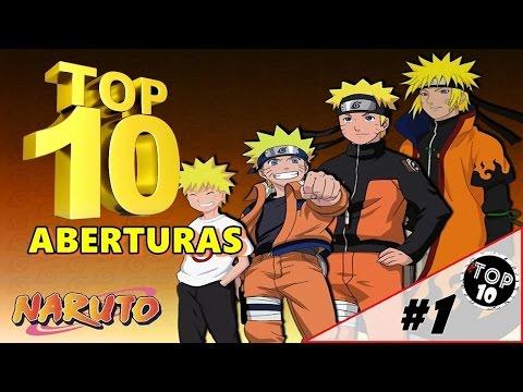 Top 10 Melhores Aberturas de Naruto