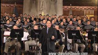 """Into The Fire"" performed by Daniel Rodriquez and the Cadet Glee Club of West Point"