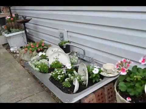 Garden Sink Backyard Garden Sink YouTube