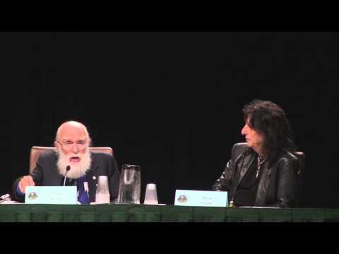 James Randi and Alice Cooper - Dragon*Con 2012