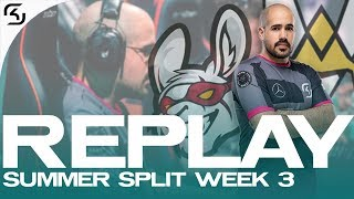REPLAY: SK vs MSF and VIT | SK LEC WEEK 3