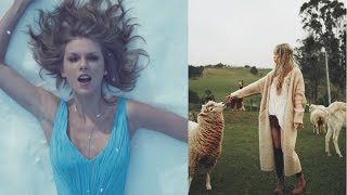 taylor swift copies taeyeon?out of the woods vs i kpop