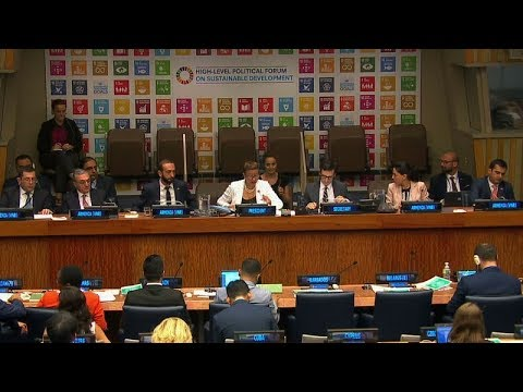 Armenian Government Officials  attended the High-level Political Forum at the UN