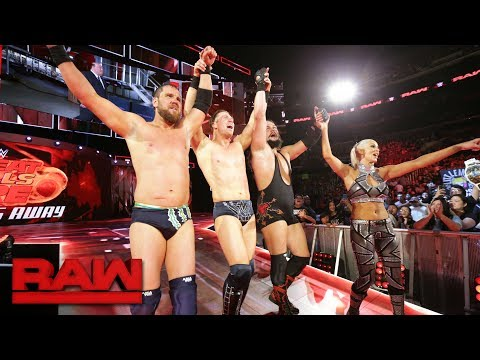 Dean Ambrose, Heath Slater & Rhyno vs. The Miz & The Miztourage: Raw, June 26, 2017