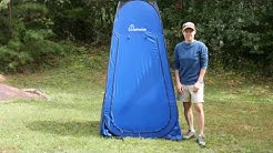 How to Fold a Portable Pop Up Changing Tent