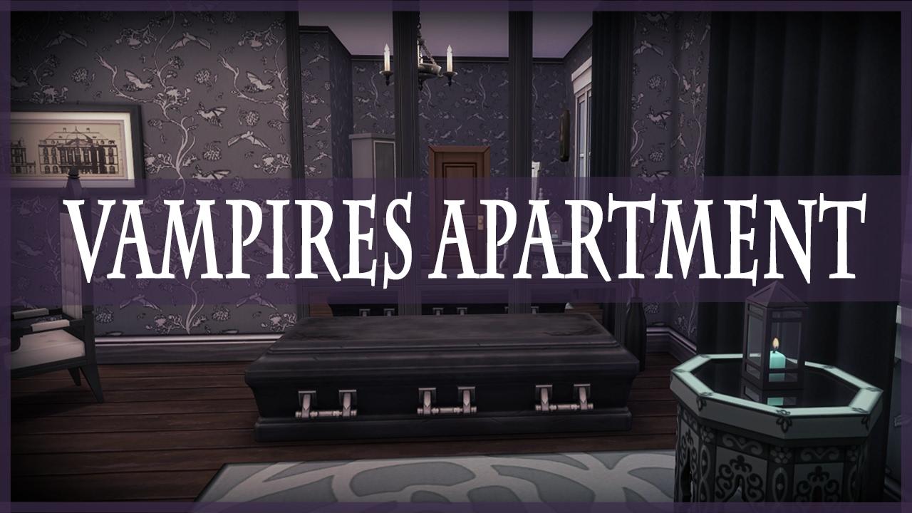 The Sims 4 Vampires + City Living | Vampires Apartment Ideas