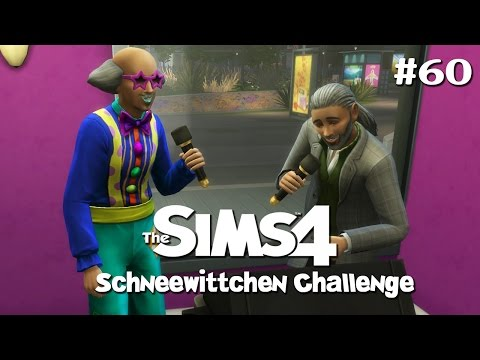 SCHNEEWITTCHEN CHALLENGE • #60 - Karaoke   Let's Play Die Sims 4