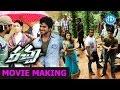 Racha Movie Making - Ram Charan Real Stunt