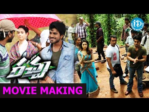 Racha Movie Making - Ram Charan Real Stunt