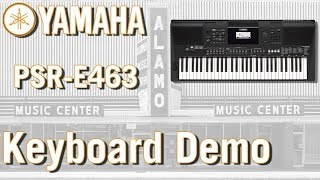 What Is The Best Portable Keyboard? - Yamaha PSR E463 Demo