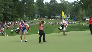 Scott Brown makes a hole-in-one at Wyndham Championship