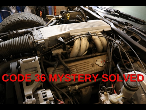 Corvette GM TPI code 36 / Mystery Solved- DIY AUTO REPAIR #2