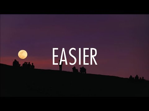 5 Seconds Of Summer - Easier (Lyrics)