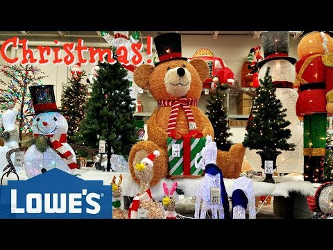 Shop With ME! Lowes Christmas Decorations Elvis Christmas 2017