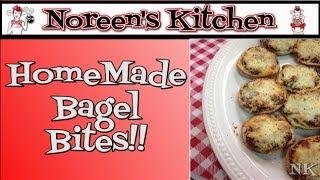Homemade Bagel Bites Recipe~ Noreen's Kitchen
