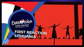The Roop wins in Lithuania 🇱🇹 - Eurovision Song Contest 2020