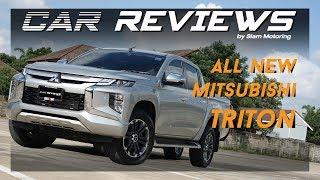 รีวิว ALL NEW Mitsubishi TRITON หน้าหล่อใหม่ : รายการ Car Review By Siam Motoring