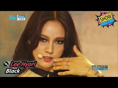 [Comeback Stage] Lee Hyori - Black, 이효리 - 블랙 Show Music core 20170708