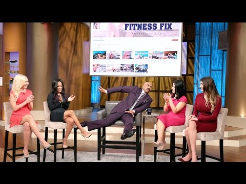 My First Appearance with Rachel Levin and Laura Vitale on the Steve Harvey Show & Giveaway Winner