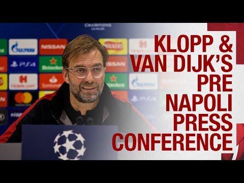 Klopp and Van Dijk's Champions League press conference | Napoli