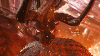 Monster Hunter World: First Behemoth Encounter with Cutscene