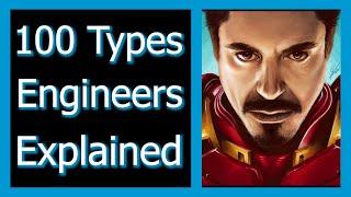 100 Types of Eฑgineers | Engineering Majors Explained | What Engineering Major Should I Choose?