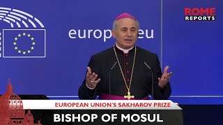 Bishop of Mosul, finalist for European Union's Sakharov Prize