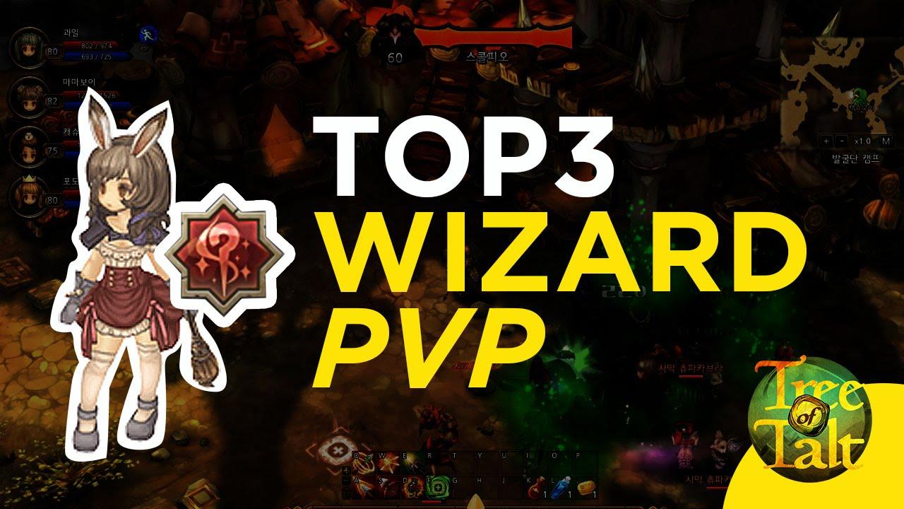 Tree of Savior - TOP 3 PVP Wizard Builds ft  Games of Savior