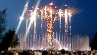 EXPO MILANO 2015 SHOW, spettacolo di luci e  giochi d acqua