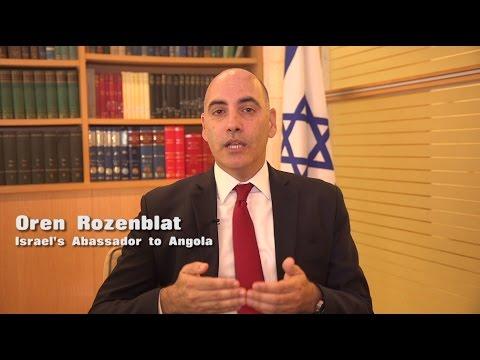 Meet Israel's new Ambassador to Angola, Oren Rozenblat