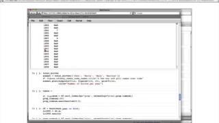 O'Reilly Webcast: Python for Data Analysis