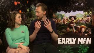 Tom Hiddleston and Maisie Williams Interview: Early Man