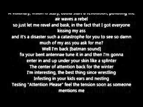 Eminem - Without Me (Lyrics)