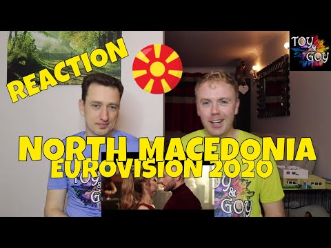 NORTH MACEDONIA EUROVISION 2020 REACTION: Vasil - YOU