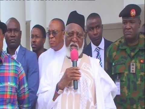 Former Head Of State Gen. Abdulsalami Visits Gov. Obiano Of Anambra