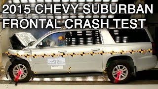 2015 Chevrolet Suburban Crash Test (Frontal)